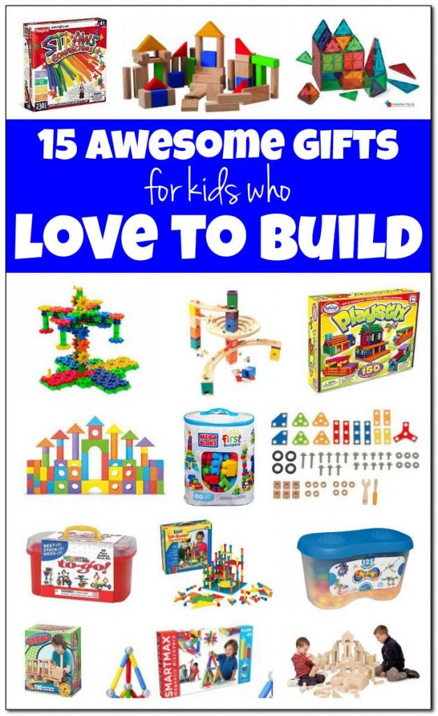 Best building toys for kids: 15 awesome gifts for kids who love to build things. Great holiday gift ideas for the little tinkerer or little engineer in your life! #holidaygiftguide || Gift of Curiosity
