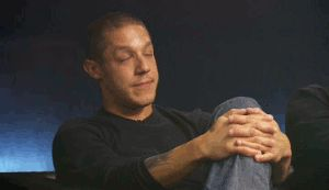 theo rossi on luck cage | Look at that face, that smile. And Kim is with him, come on.