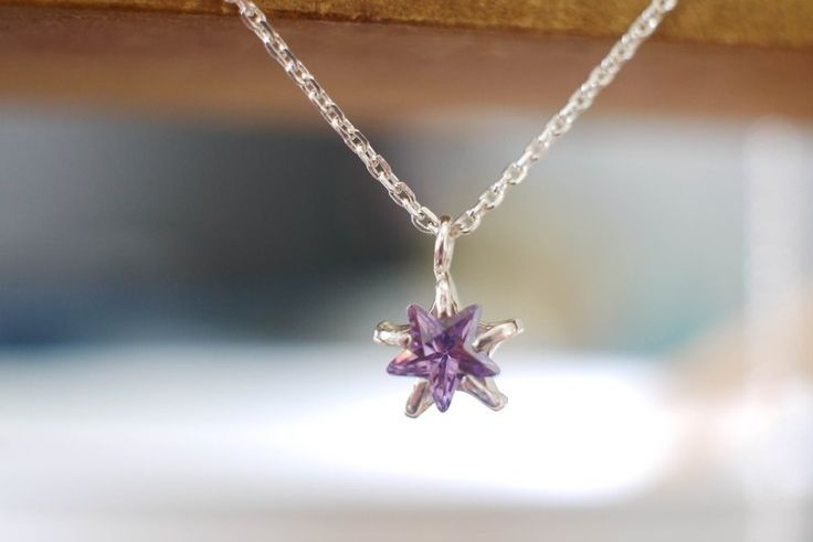 Purple Star Necklace $980