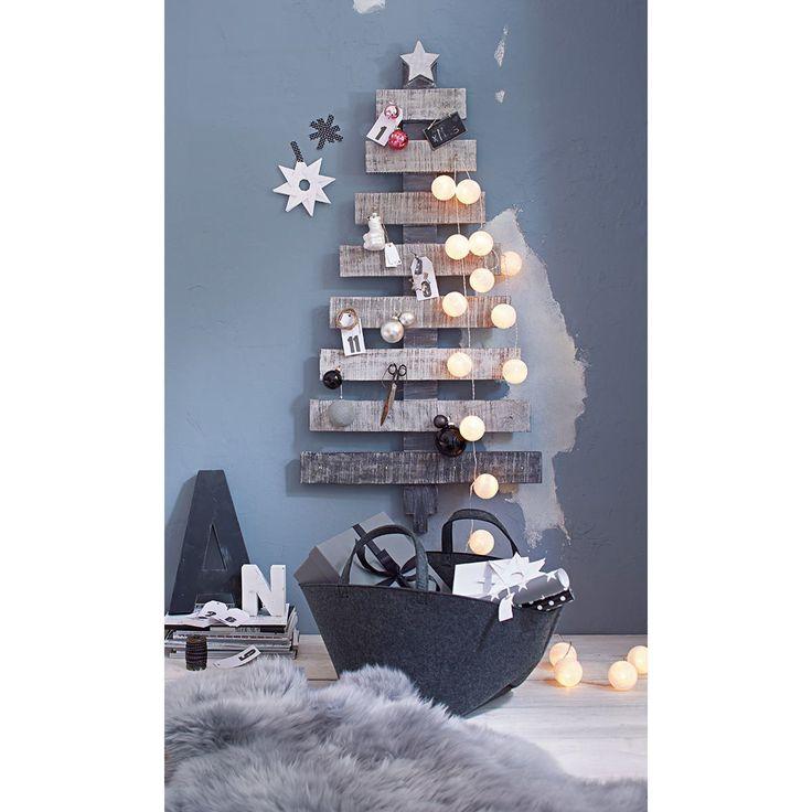 Deko-Baum, Shabby Look | Weihnachtsdekoration | Weihnachten | Impressionen DE