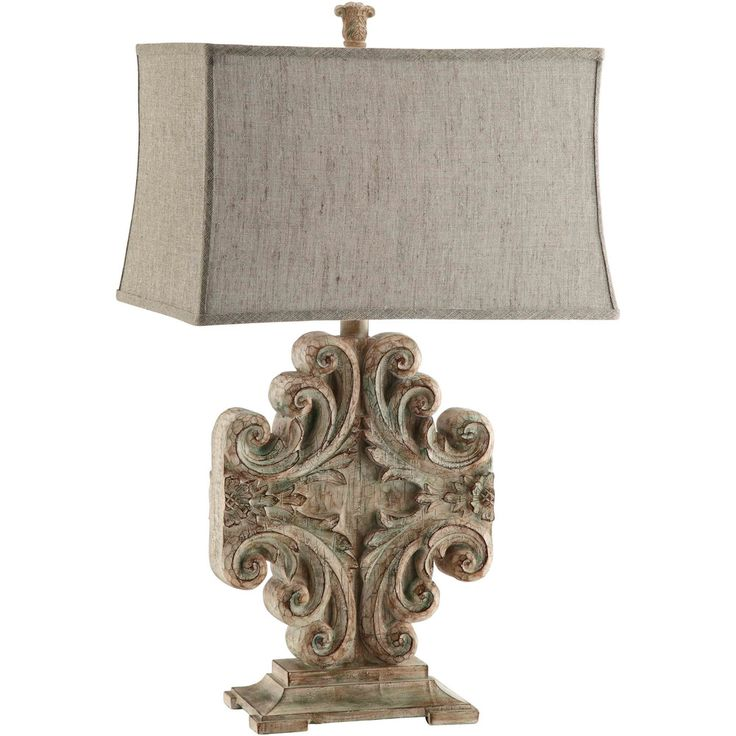 Sonia 1-light Weathered Table Lamp | Overstock™ Shopping - Great Deals on Table Lamps