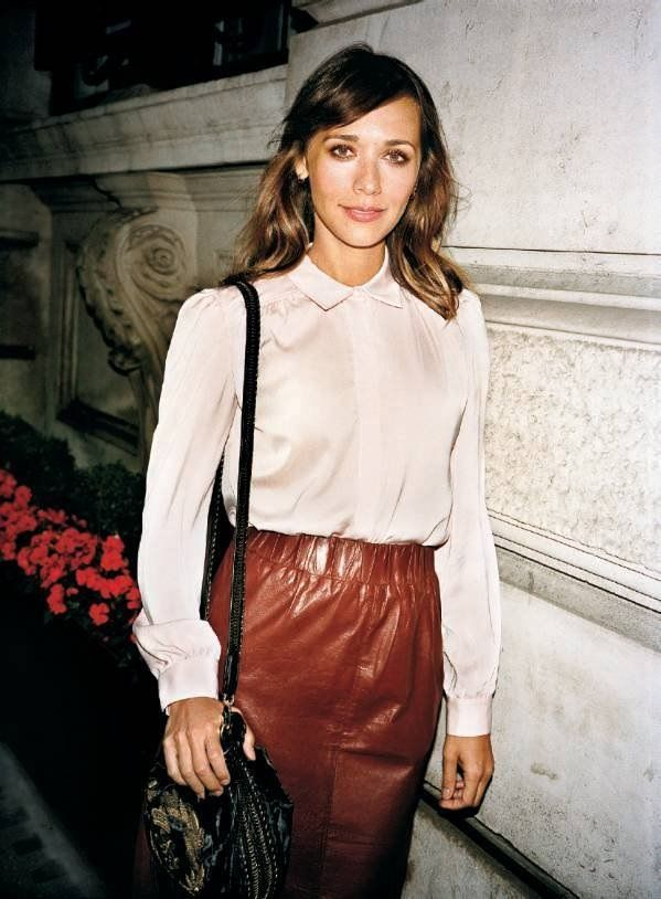 Rashida Jones Love her style.