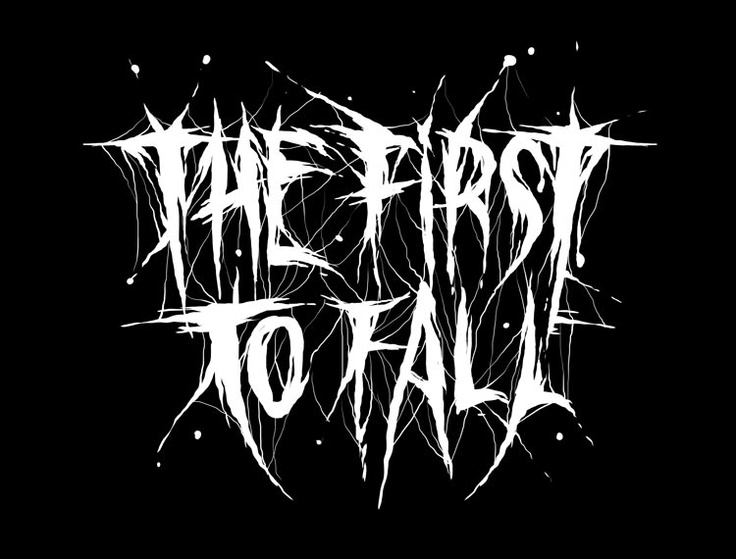 First To Fall #TheFirstToFall #blackandwhite #logo #bandlogo #music #metal