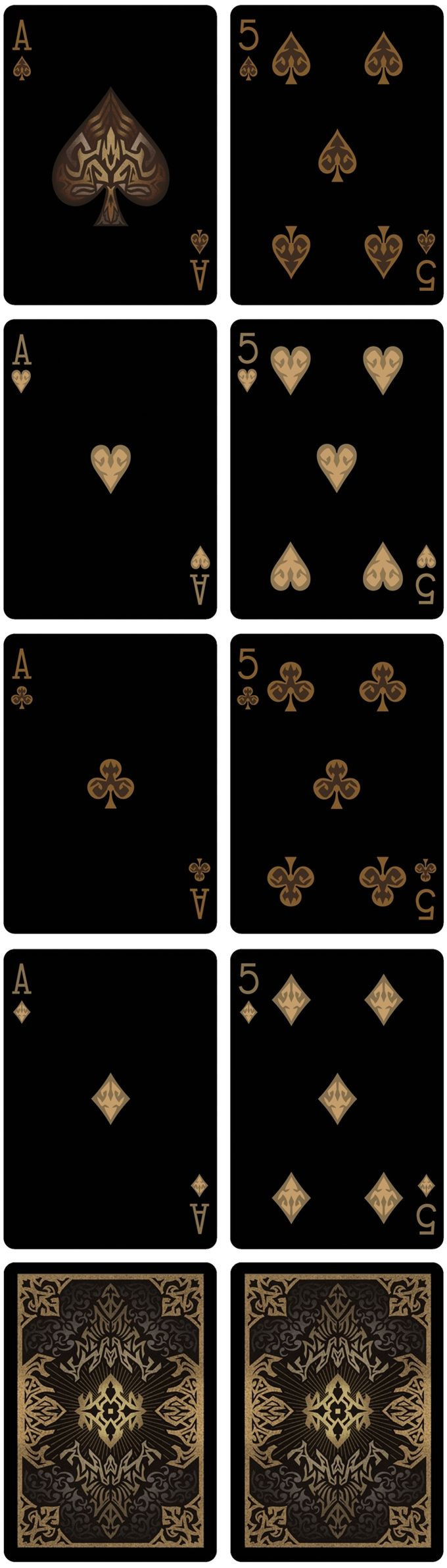 """Bicycle Natural Disasters """"Earthquake"""" Playing Cards by Collectable Playing Cards. Aces and pip card details. Printed by USPC under the Bicycle brand."""