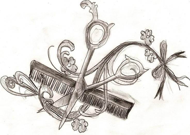 Stylist tattoo drawing