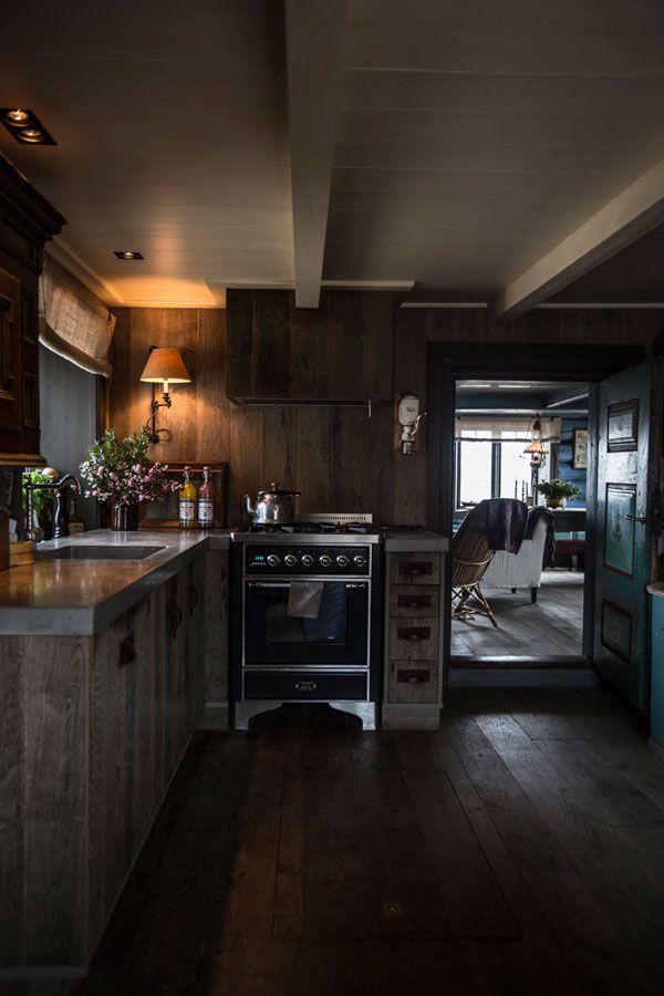 Tradisjonsrikt hyttetun - på Norefjells tak - Interiørmagasinet