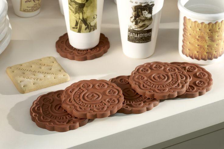 Ceramic coasters and cups full of memories! #christinamorali #ceramicsart #greekbrandnew #GBN17 #madeinGreece