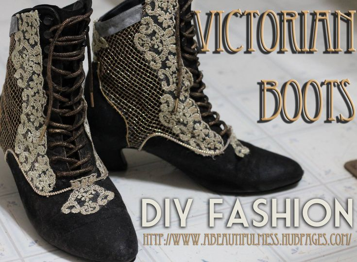 14 best paper crafts steampumk images on pinterest paper crafts diy fashion victorian boots solutioingenieria Gallery