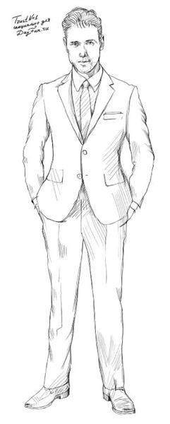 Рисуем пиджак