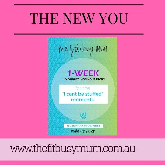 15 minute workouts for busy mums www.thefitbusymum.com.au