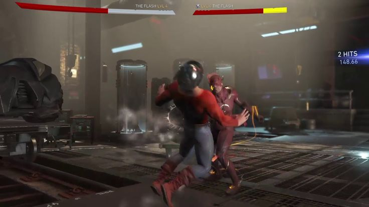 Injustice 2 The Flash vs Jay Garrick