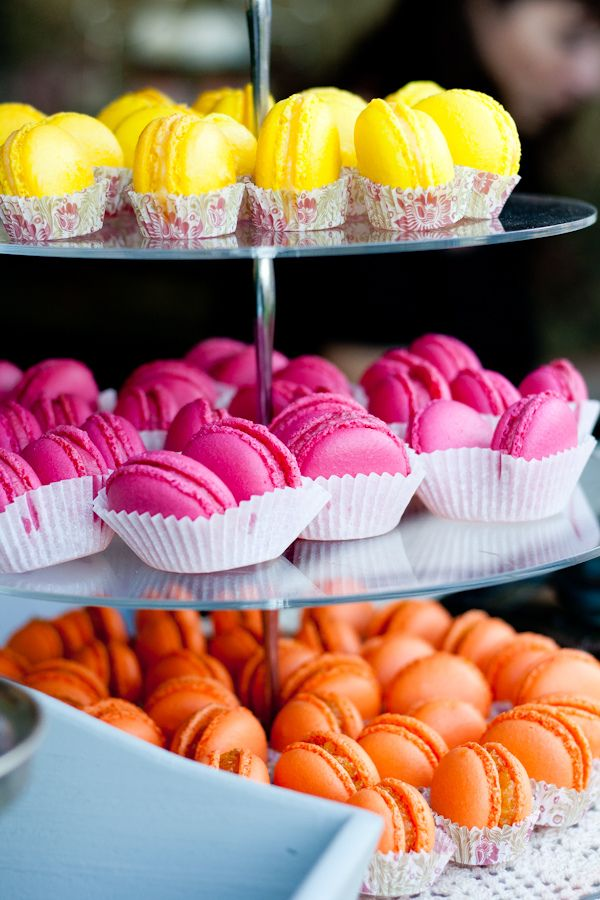 macarons: Desserts, Colour, Cake, Idea, Sweets, Color, Food, French Macarons, Macaroons