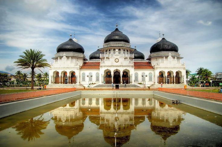 Baiturrahman mosque, Aceh - Indonesia