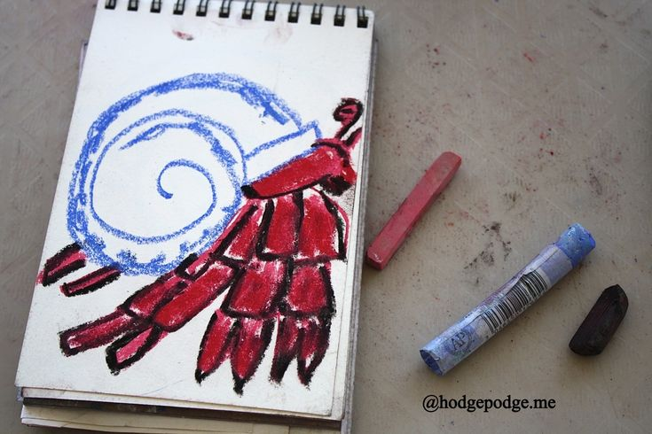 How to draw a hermit crab step 3 www.hodgepodge.me