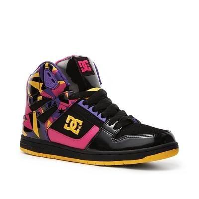 Cool Womens Dc Rebound Hi Skate Shoe