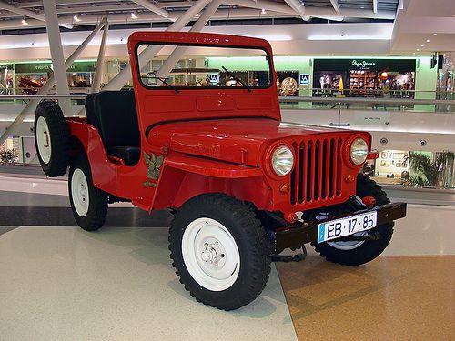 Willys Jeep CJ3A - Bombeiros Voluntários Madeirenses