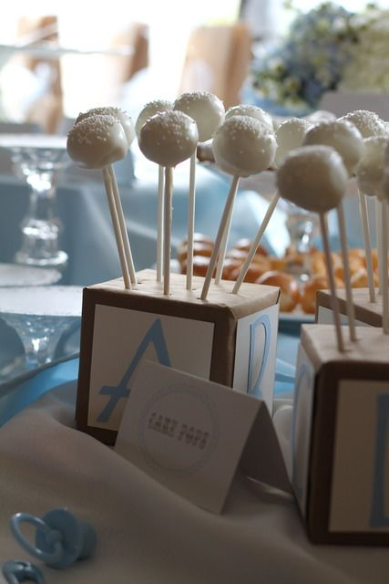 """Photo 7 of 21: Shabby Chic Boy / Baby Shower/Sip & See """"Welcome Baby Brayden"""" 