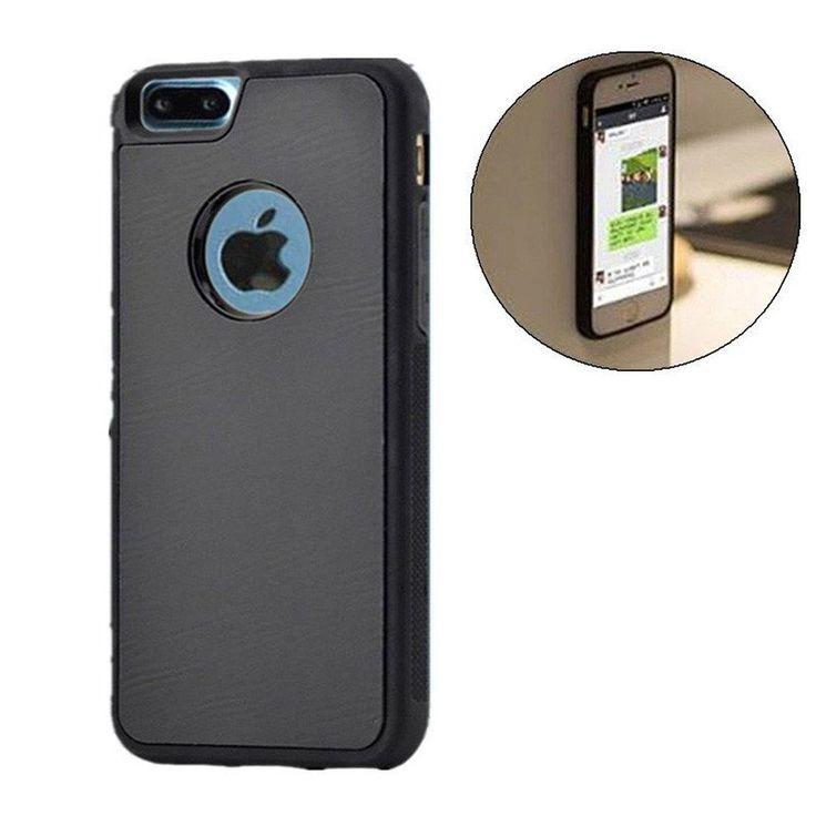 Anti Gravity Selfie Hybrid Magical Nano Sticky Anti gravity Cover Case For iPhone 7 7 Plus 6 6S SE 5 5S apple 7plusAnti-gravit
