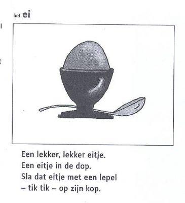 gedichtje,een ei ...
