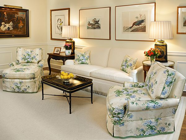 Scully U0026 Scully Interior Design. Sutton Place Residency, New York, NY.  Living