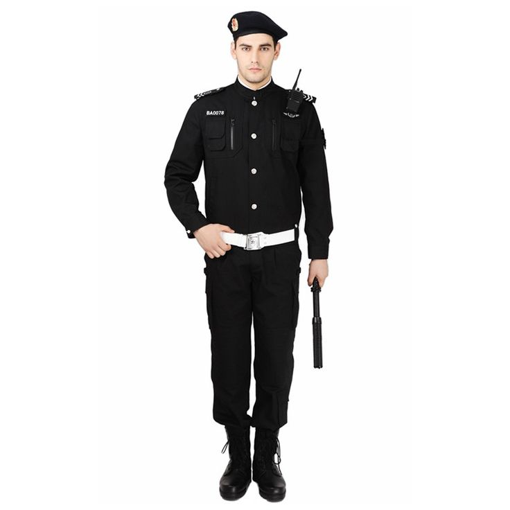 custom security uniform