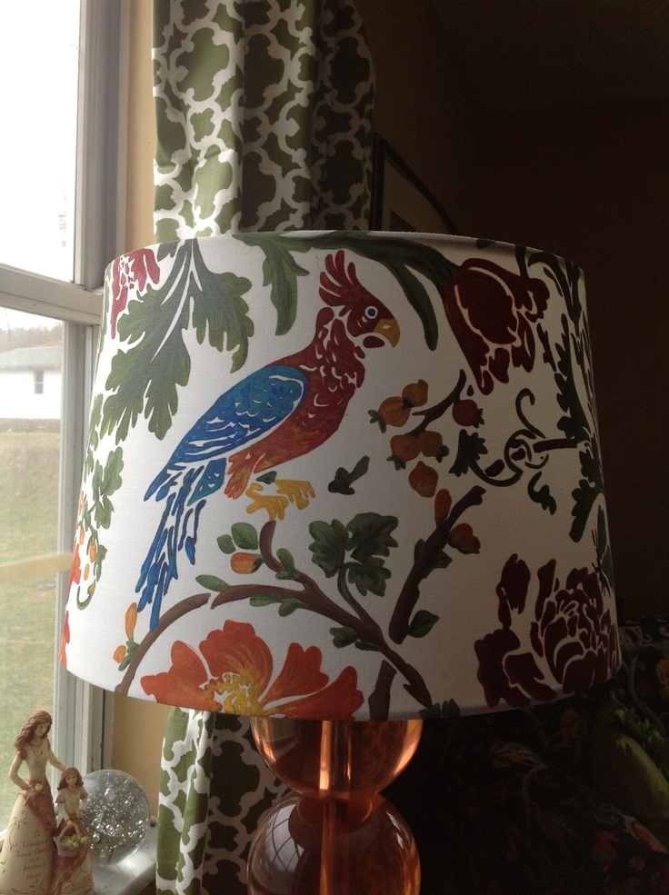 1000 Images About Hand Painted Lamp Shades On Pinterest