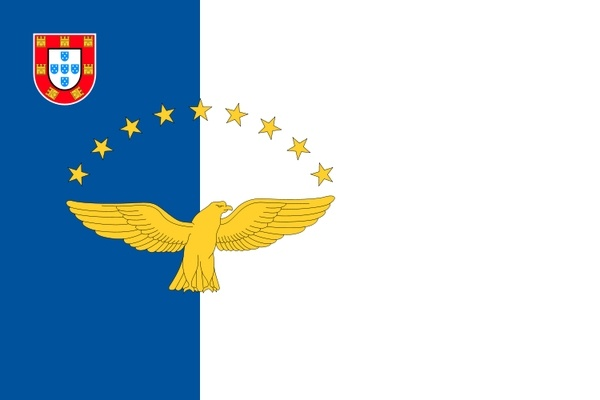 Flag of the Azores where my family is from...