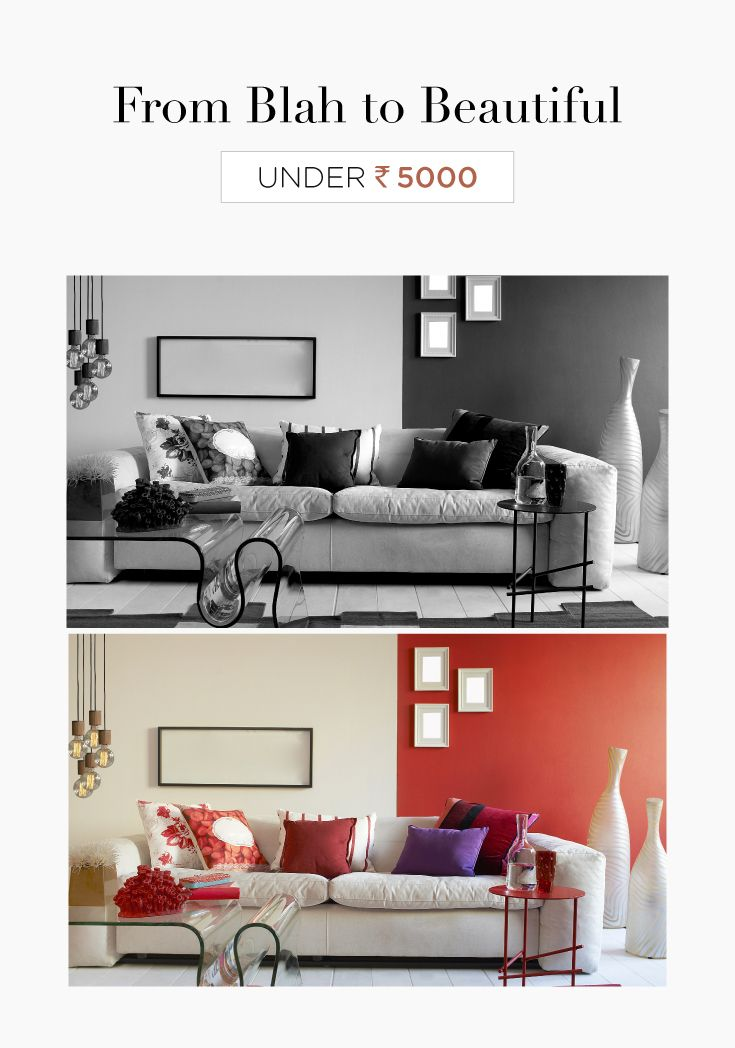 Small Budget Big Makeover Ideas To Use Under 5000 Livspace