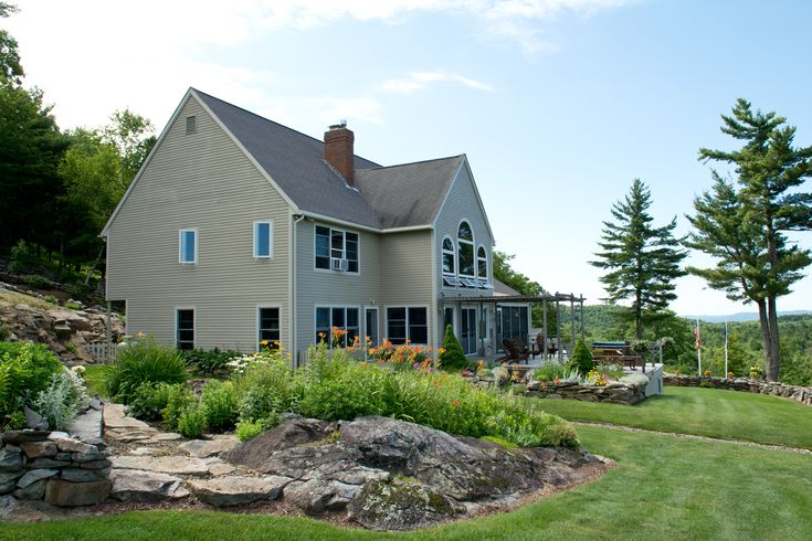 Custom-built home, 6 bedrooms, 6 baths, 3 car garage. 206 Coach Road, Bridgewater, NH www.newenglandmoves.com/Dean.Eastman