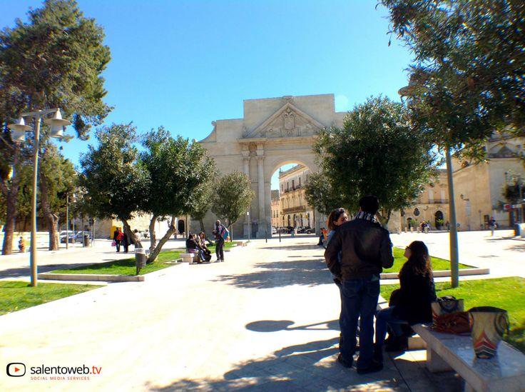 Guarda il video: http://www.salentoweb.tv/video/8580/porta-napoli-lecce-arco-trionfo-citta-c
