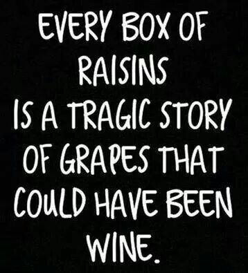 every box of raisins...