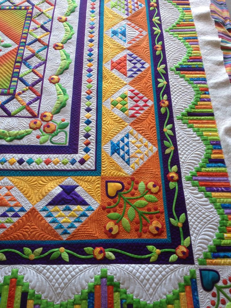 That Crazy Quilty Girl: Holy sheezy! And Ruffled Roses (lots of pictures)