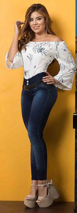 ❤ the outfit except the SHOES....Jeans para dama, 100% colombianos Ventas al por mayor