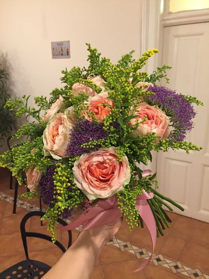 Wedding bouquet. Taj -the secret garden #flowershop