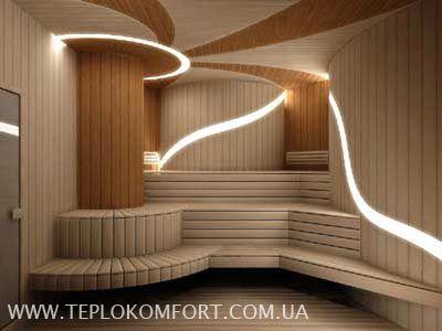 Modern curves in sauna