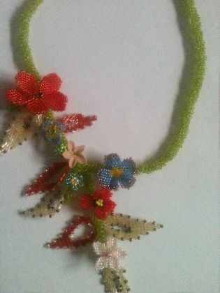 Colier, by coribeautifulcrafts, 100 Lei