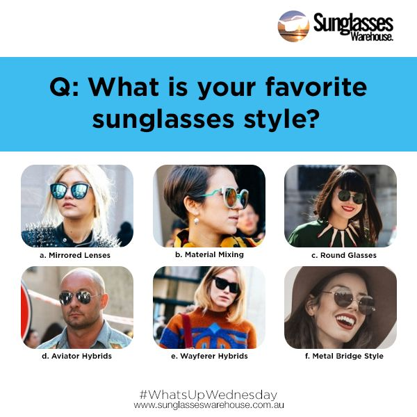 #WhatsupWednesday:  Mine would be the round frames. What's yours? Don't know the difference? Read them here: https://goo.gl/bJel7U