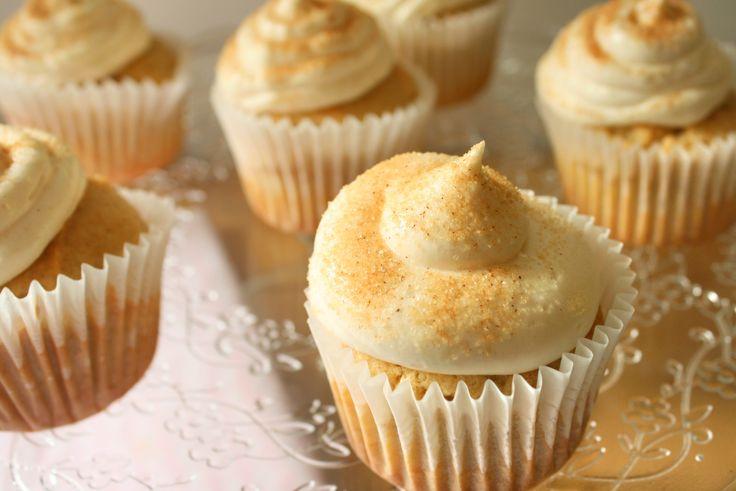 Snickerdoodle Cupcakes (vegan mit einer glutenfreien Option)