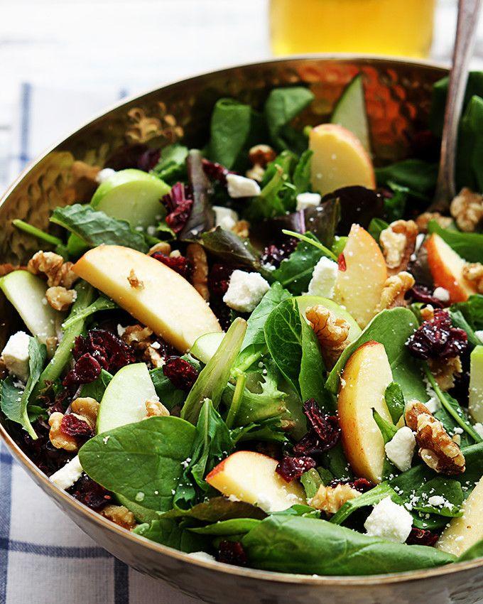 Elmalı Rokalı Semizotlu Salata