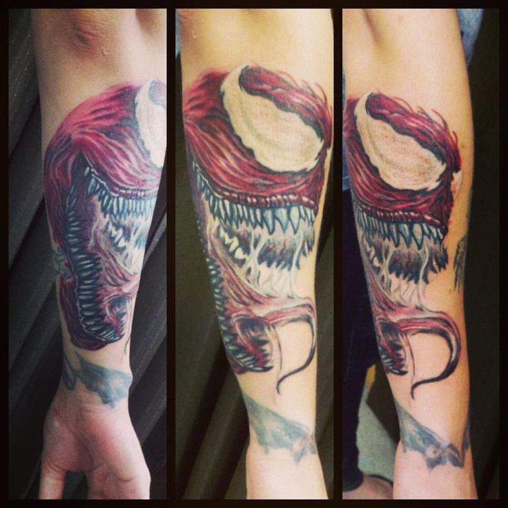 Venom Carnage Tattoo: 96 Best Images About Tattoos On Pinterest