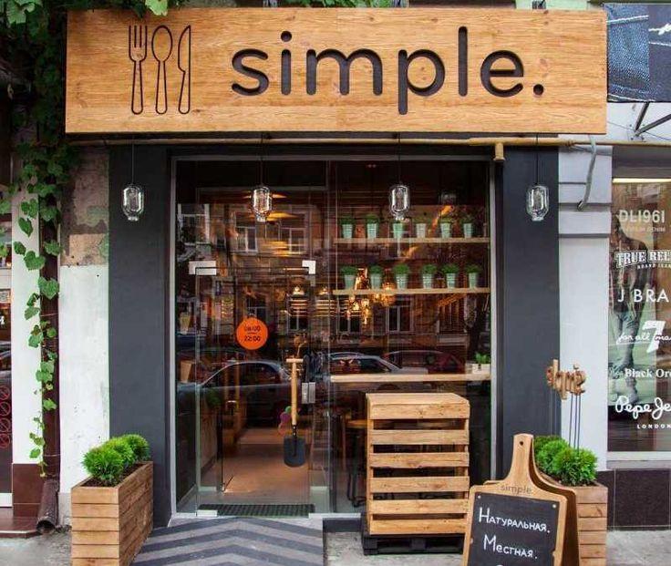 Desain Interior Restoran Simple yang Memiliki Nama Simple