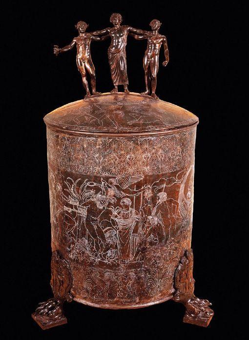 Ficoroni Cista, 300 B.C.