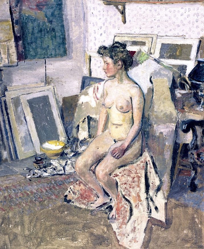 Edouard Vuillard, 'Nude in the Studio', 1902-1903