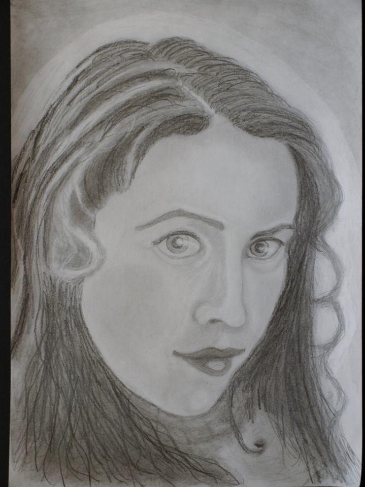 Portret creionat marime A4 realizat de Adrian Dirnescu tel. 0040754216355 www.facebook.com/...
