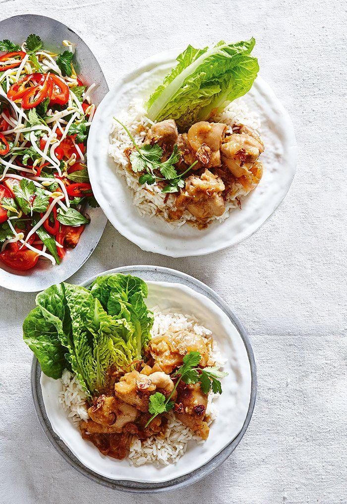 Vietnamese Caramel Chicken Salad from Mindfood