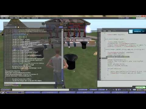 Cappelli e Conigli - Principi di funzionamento dei rezzer in opensim (o secondlife) - YouTube