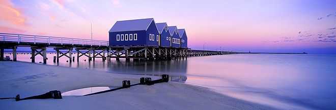 Boat House, Busselton Western Australia by Christian Fletcher