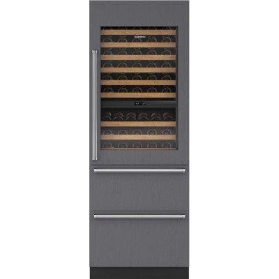 Sub-Zero IW-30R 30-Inch Integrated Wine Storage with Refrigerator Drawers