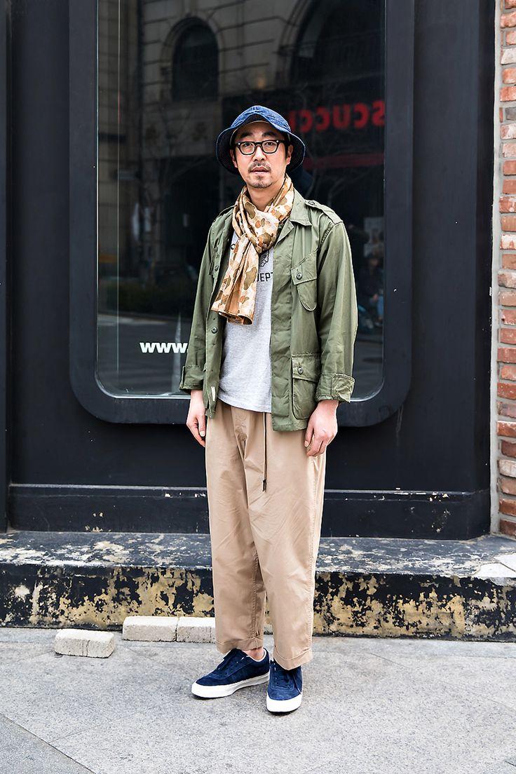 Kim Hyungseok, Street Fashion 2017 in Seoul