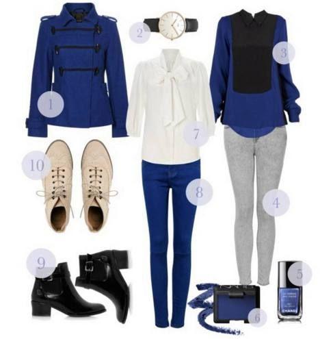 Sähäkän sinistä. Muotibloggaaja Viola valitsi siniset suosikkinsa.